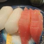 もり一 - 料理写真:マグロ、イカ