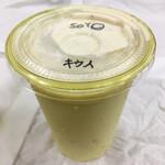 ミバショウ - スタンダードバナナジュース 豆乳割り キウイブレンド