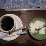 篝屋 - 杏仁豆腐・珈琲