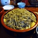 丸泉 - 料理写真:きじそば(きじの焼肉とつくね入りの暖かいつゆのついたもりそば)
