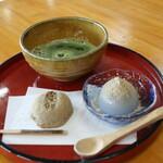 茶房 珍重庵 - 料理写真:食べ比べセット