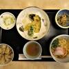 Hanafuji - 料理写真:あさりご飯天ぷらセット 814円