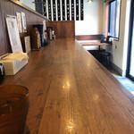 Ramenfukunoya - 店内。雰囲気と清潔感あり。