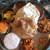 ダルマサーガラ - 【ダルマサーガラ ミールス】2,200円 茄子キーマ&チキン