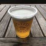 チーズガーデン - 550円でクラフトビールが飲めるが、量が少ないですよね。。。