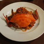 カフェ ラ・ボエム - 渡り蟹のトマトクリームソース