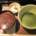 銀亭Cafe&Bar - 田舎汁粉&抹茶