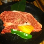 食彩和牛しげ吉 - リブロースステーキ