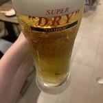 大阪焼肉HANABI - ドリンク写真:アサヒビール!飲み放題もあります。