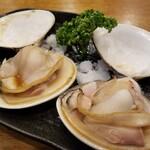 蔵元の酒と直送の魚 さかまる - 焼きハマ。