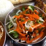 インド料理インディゴ - サラダ