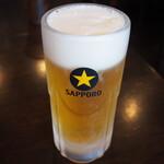 うさぎ - 生ビール