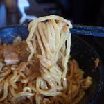 うさぎ - 超肉盛りまぜそば(麺)