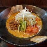 味噌屋麺四朗 - 料理写真:冷やしタンタン麺(858円)