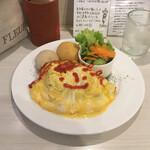 CAFE AFF - * オムライス (単品) 860円