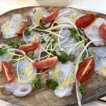 肉と鎌倉野菜の大衆イタリアン 北千住Beach  - 北海道産タコのカルパッチョ