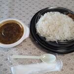 26号くるりんカレー - 煮込み牛すじカレー
