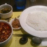 Chinkenichimaabodoufuten -  麻婆豆腐セット