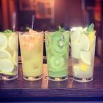 大阪焼肉HANABI - ドリンク写真:レモン、オレンジ、キウイ、グレフル