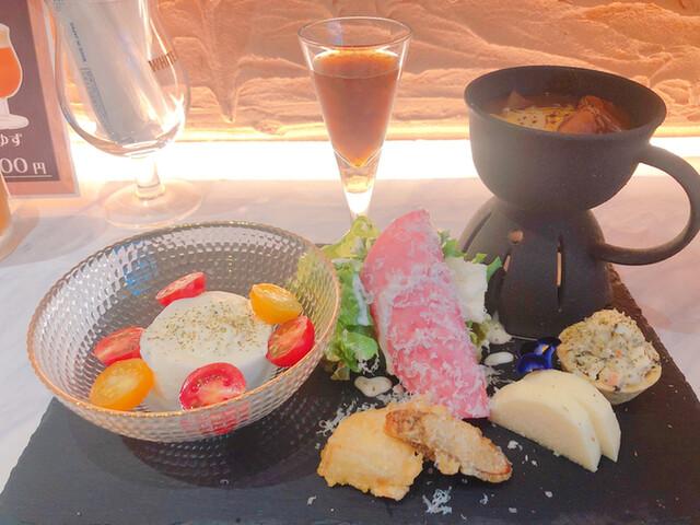 和cheese TENSAIの料理の写真