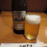でんすけ - 瓶ビール(中瓶) 550円 (2020.7)