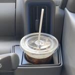 チャーリーブラウン - アイスコーヒー