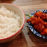 高橋と餃子 - 白ごはんとタコ辛