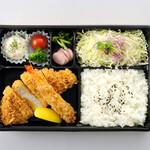 とんかつ KYK - ロース+エビフライ弁当