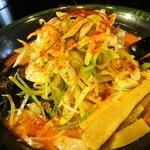 味源 - 鉄火麺(激辛麺) 850円