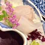 133960658 - 「時期のふた品目」は竹岡の鮃です 旬の東日本一の鮃が登場しました