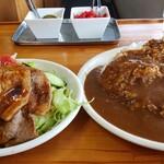 カリーム - 料理写真:豚テキカレー大盛(・∀・)