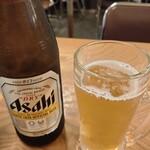 みゆき食堂 - 瓶ビール