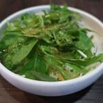 あたしん家 - きゃべつと水菜のサラダ