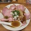 中華そば ココカラサキエ - 料理写真:ノドグロ煮干チャーシュー麺♪
