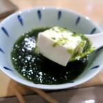 宝山 いわし料理 大松 - 磯の香りがプーン(これサイコー♥️)