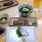 宝山 いわし料理 大松 - これが大松のマル得セット¥1860(高いのか安いのか分からない)
