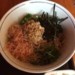 ソバキチ - 納豆ぶっかけ蕎麦