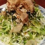 鳥小屋 - 鳥小屋ヤッコサラダ(550円)