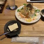 133976354 - お通しのお豆腐                       大根サラダ 599円