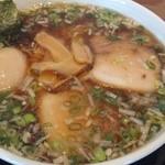 らーめん西崎 - 味玉ラーメン(醤油)