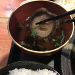 むちゃく - 吸い物には椎茸が丸々1個