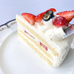 井の頭珈琲 - いちごのショートケーキ