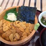 かいせんどころ 梁 - 料理写真:南三陸キラキラうに丼(税抜2,700円)