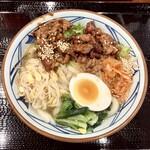 丸亀製麺 - 『牛焼肉冷麺(並)』様(690円)