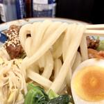丸亀製麺 - うどんも歯応えあって美味しいよ・・・