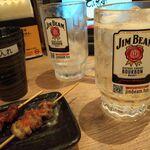 水炊き・焼鳥・鶏餃子 とりいちず - 宝焼酎ハイボール199円+濃い目0円
