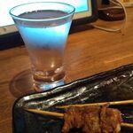 水炊き・焼き鳥 とりいちず酒場 - 日本酒「恒の月」199円