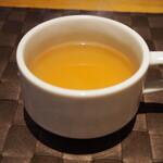 スタイリッシュグリル Tyu - 生姜が利いたコンソメスープ(お替わり自由)