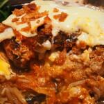 スタイリッシュグリル Tyu - ベーコンチーズエッグハンバーグ(肉汁がたっぷり)
