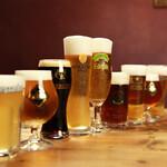 ビアホール ベアレンヴァルト - 樽生&クラフトビールが12種類